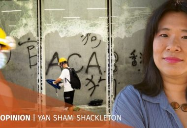 Yan Sham Shackleton LegCo protests