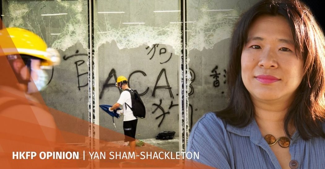 Yan Sham Shackleton LegCo protests