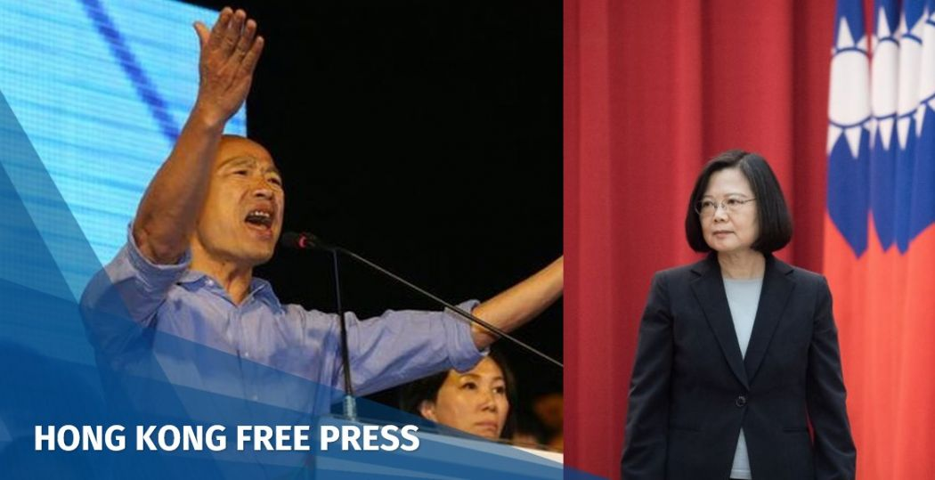 tsai ing-wen han kuo-yu taiwan presidential election