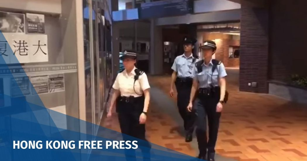 University of Hong Kong to lodge formal complaint to police over officers' entry onto campus | Hong Kong Free Press HKFP