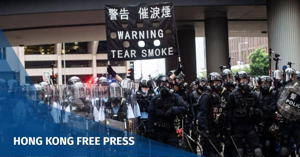 tear gas june 12