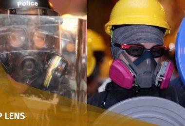 tear gas sheung wan