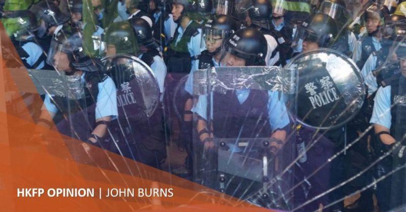 john burns selective policing