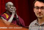 Tibet Dalai Lama Gray Sergeant Boris Johnson