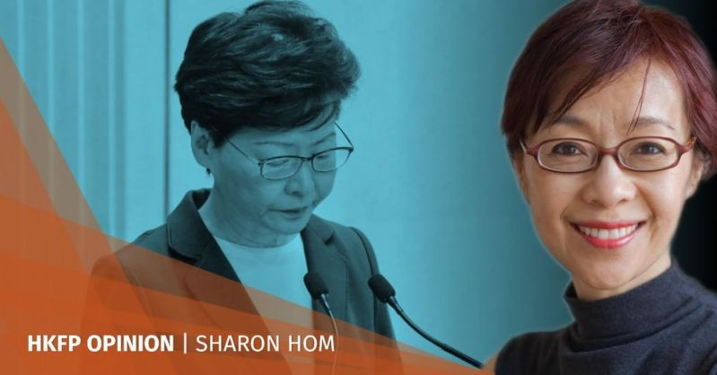 sharon hom carrie lam