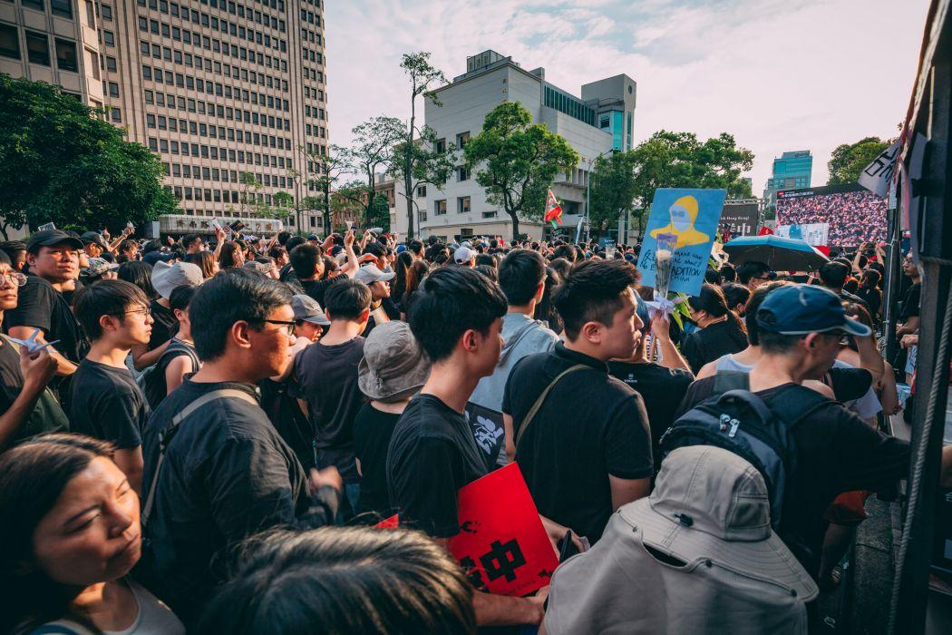 rally Taiwan Legislative Yuan