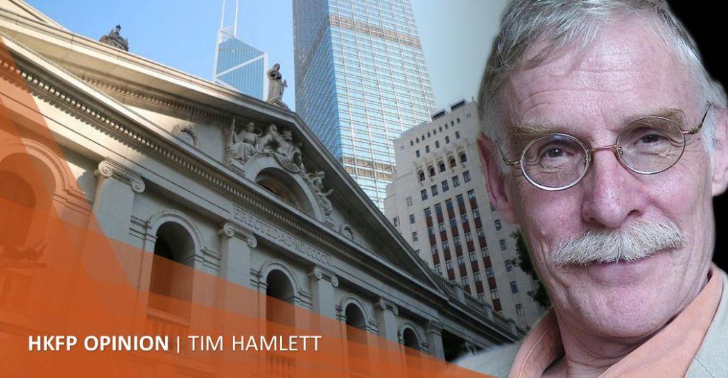 Hong Kong sentencing practices Tim Hamlett courts