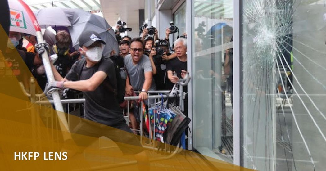 July 1 legco storming