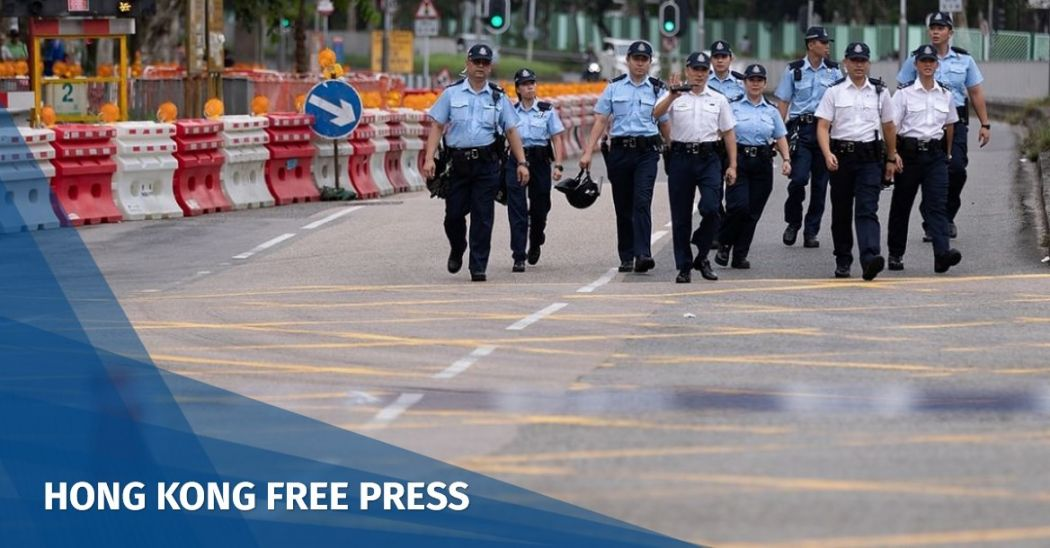 Hong Kong protester accused of biting off police officer's finger charged, as Demosisto activists remain in detention | Hong Kong Free Press HKFP