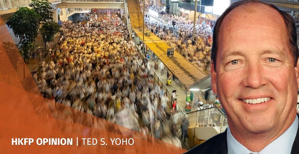 limits of beijing ted yoho