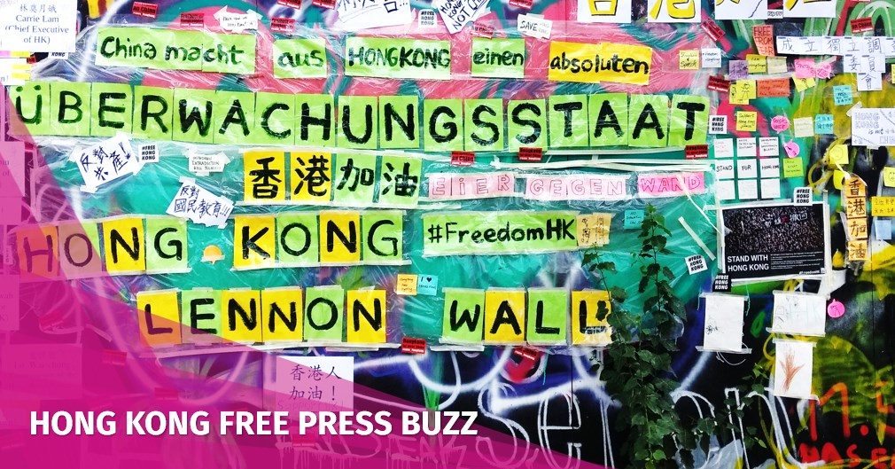 In Pictures: A Hong Kong 'Lennon Wall' appears on a remaining section of Germany's Berlin Wall | Hong Kong Free Press HKFP