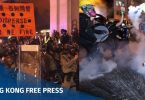 taiwan violence hong kong