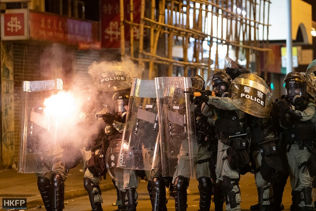 Hong Kong police made 420 arrests since June 9