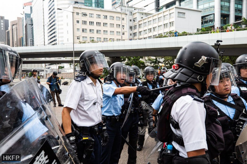 Monday July 1 china extradition protest