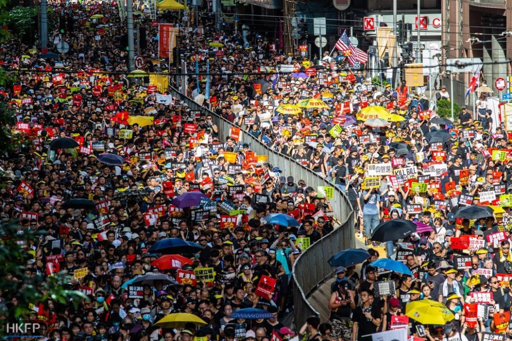 July 1 2019 Monday democracy march