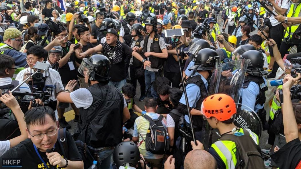July 13 Sheung Shui parallel trader protest