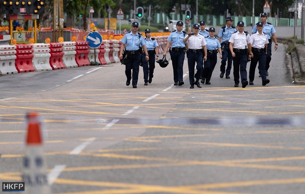 police sha tin july 14 china extradition (1)