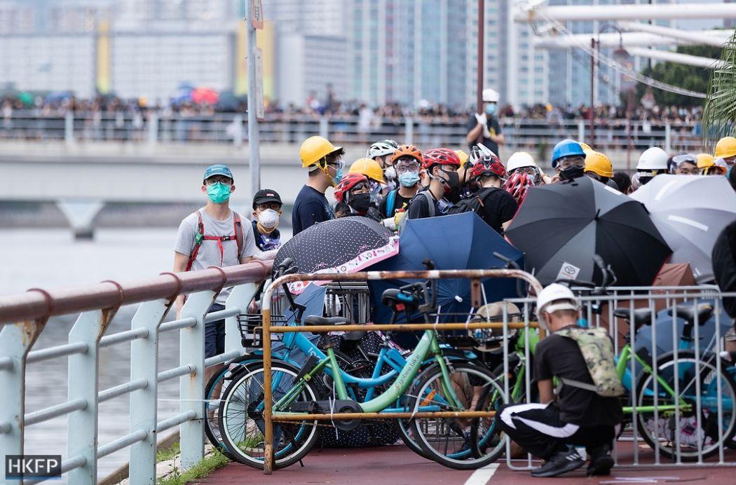 sha tin july 14 china extradition (1) umbrellas