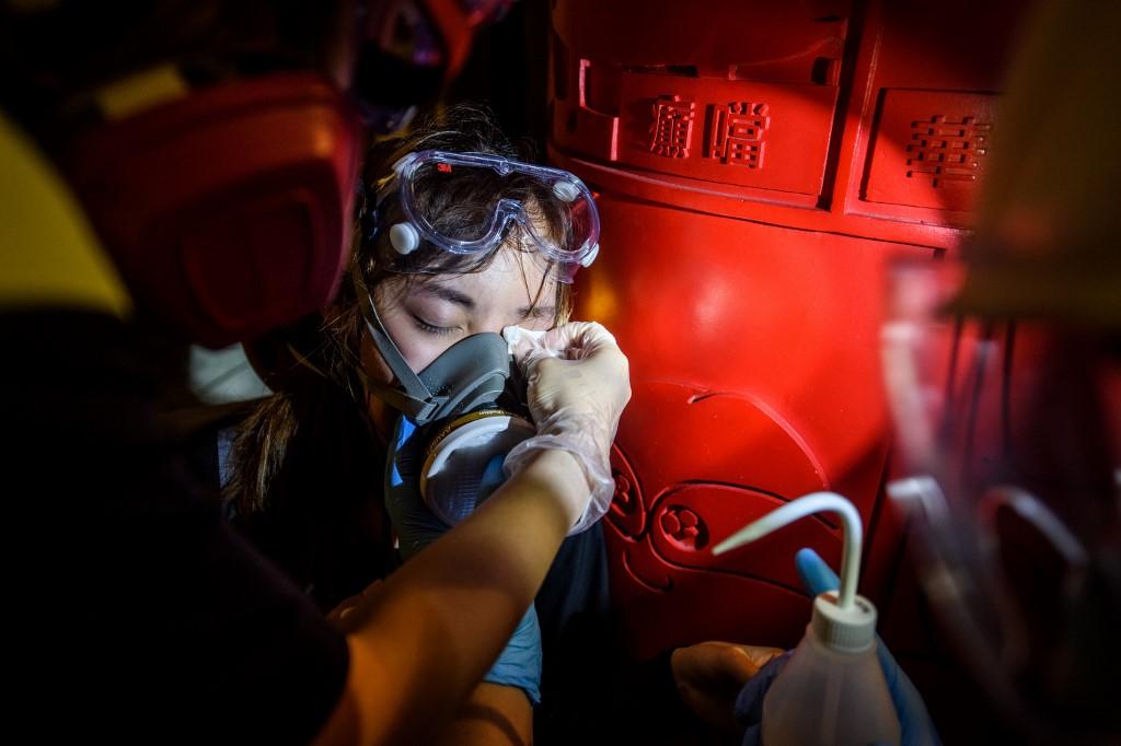 Hong Kong medics protest extradition