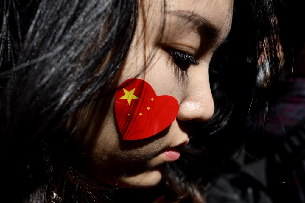 Australia pro china rally