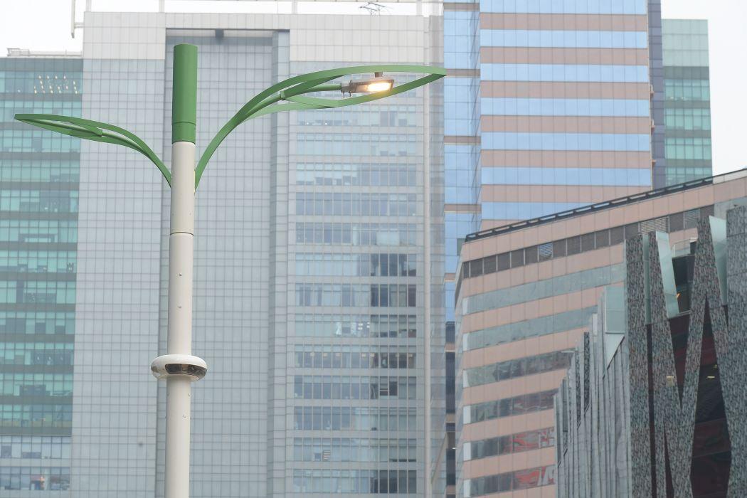 smart lamppost