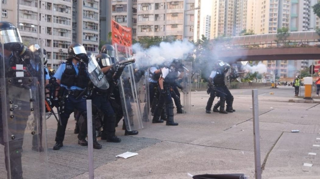 august 5 wong tai sin police protest