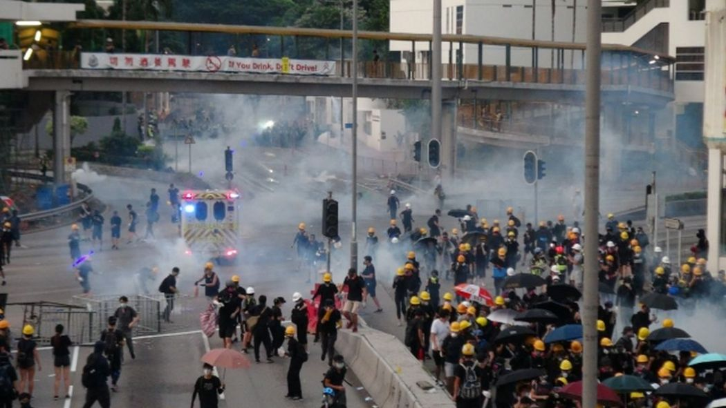 august 5 tsuen wan police protest
