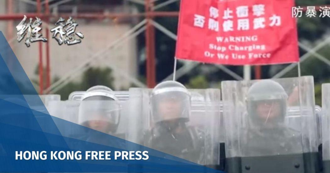 pla hong kong promotion video
