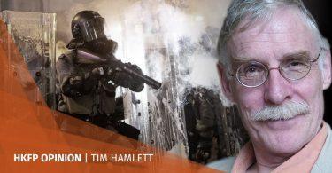 tim hamlett police force late