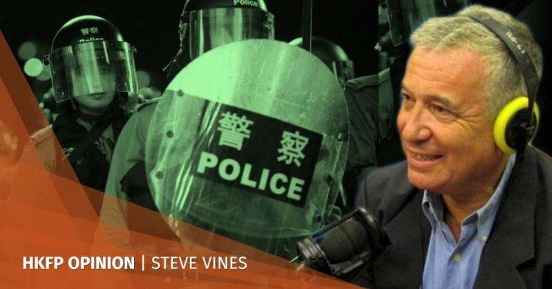 steve vines police