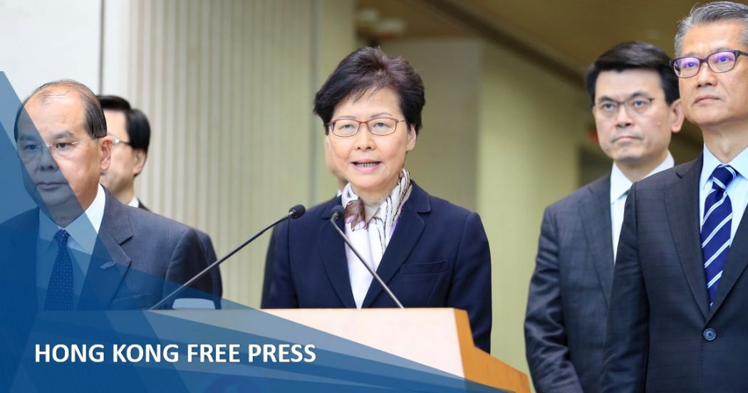 Protesters trying to 'destroy Hong Kong' and foment 'revolution,' says Chief Exec. Carrie Lam | Hong Kong Free Press HKFP
