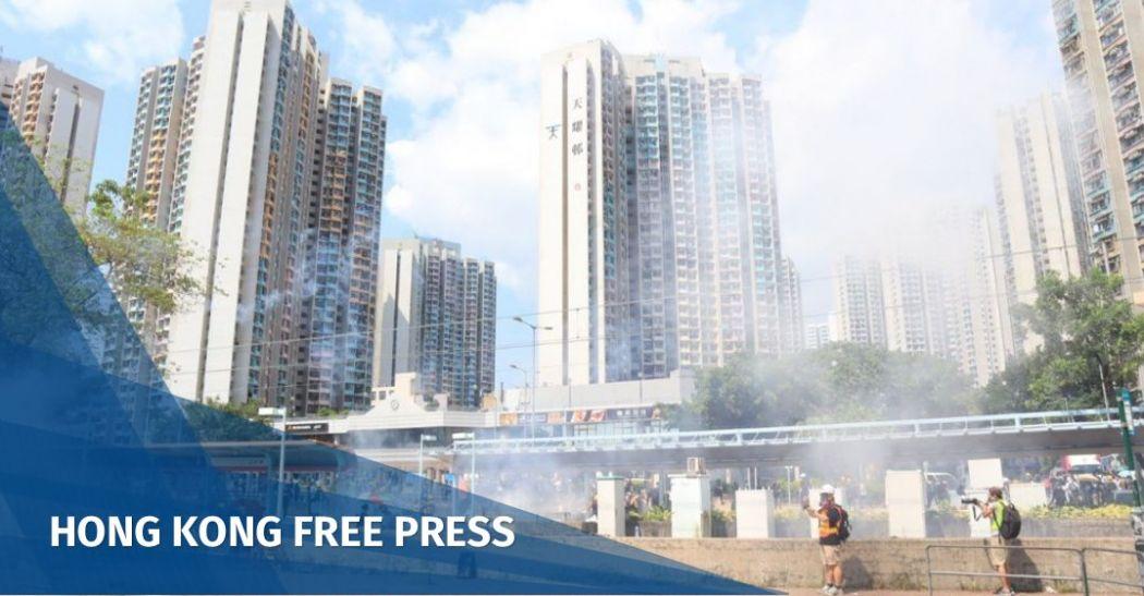 Tin Shui Wai tear gas