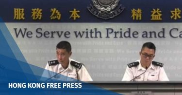police protest briefing