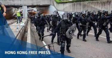 Hong Kong protest troops PLA people's liberation army