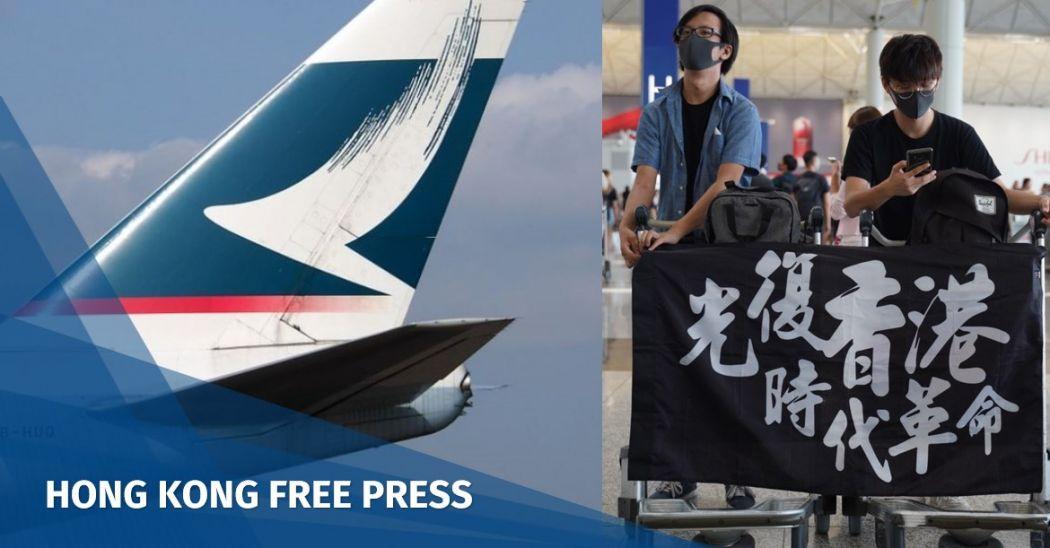 Cathay Pacific Hong Kong protest