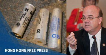 Jim McGovern tear gas