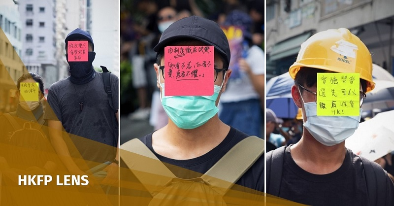 HKFP Lens: A movement without a face - the demands of Hong Kong's anti-extradition bill protesters | Hong Kong Free Press HKFP
