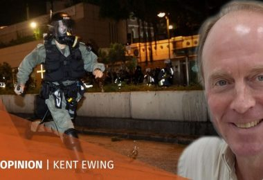 Kent Ewing summer of discontent protests Hong Kong extradition