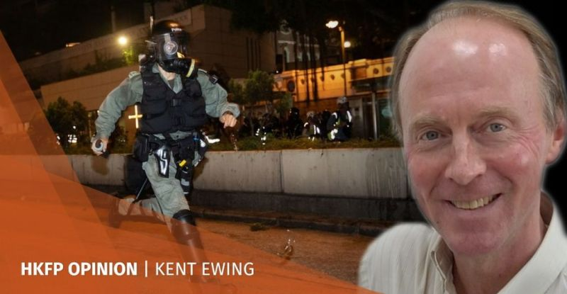 Kent Ewing summer of discontent protests Hong Kong extradition