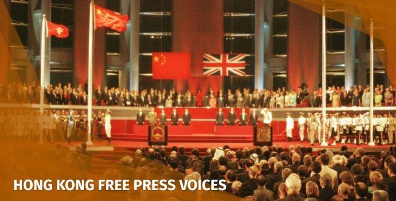 UK Hong Kong government protests