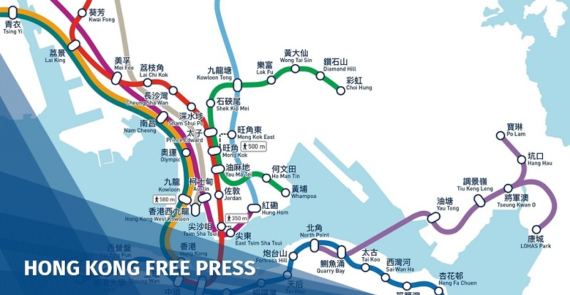 Hong Kong MTR shuts 5 stations around legal protest in Kwun Tong following China pressure | Hong Kong Free Press HKFP