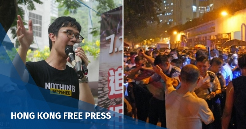 Police-protester skirmishes erupt around Kowloon on Saturday night, as Kwun Tong march organiser arrested   Hong Kong Free Press HKFP
