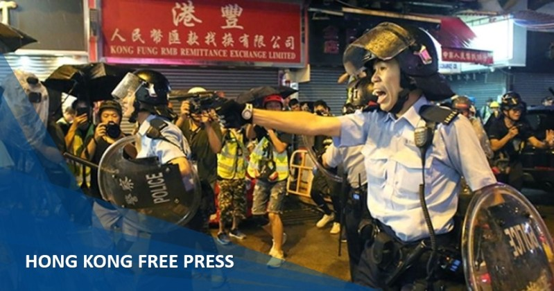 police tsuen wan gun fire china extradition