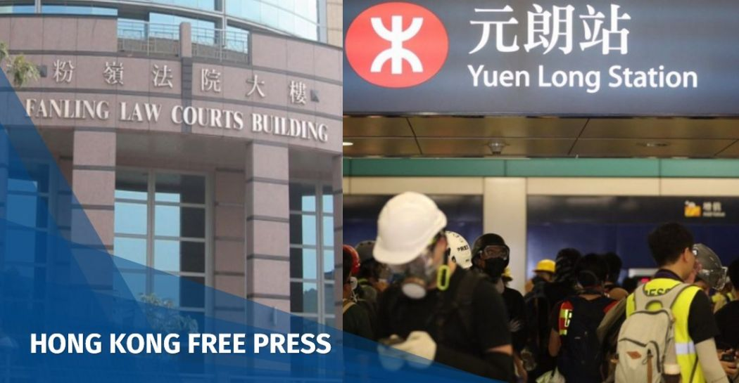 Hong Kong court denies bail for two men charged with rioting