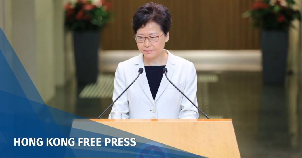 Hong Kong leader Carrie Lam says protests will be addressed with local laws, amid rumours of emergency legislation
