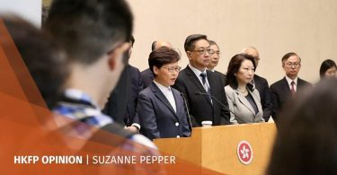 suzanne pepper carrie lam dialogue platform