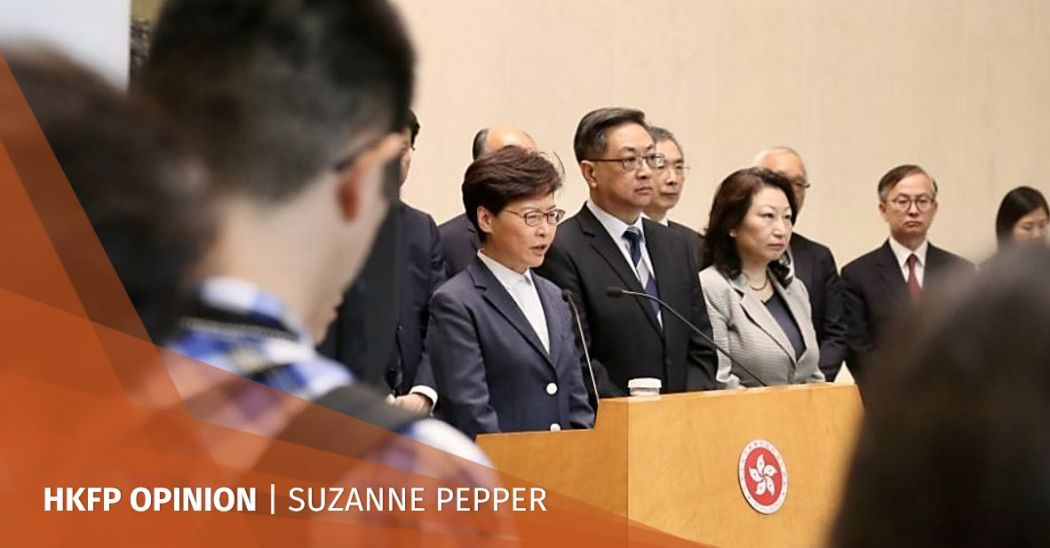 suzanne pepper carrie lam dialogue platform
