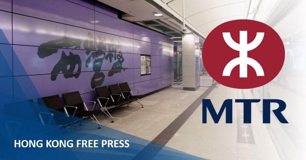 MTR sai ying pun closed