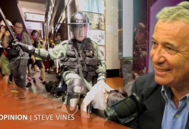 stephen vines hong kong protests extradition law