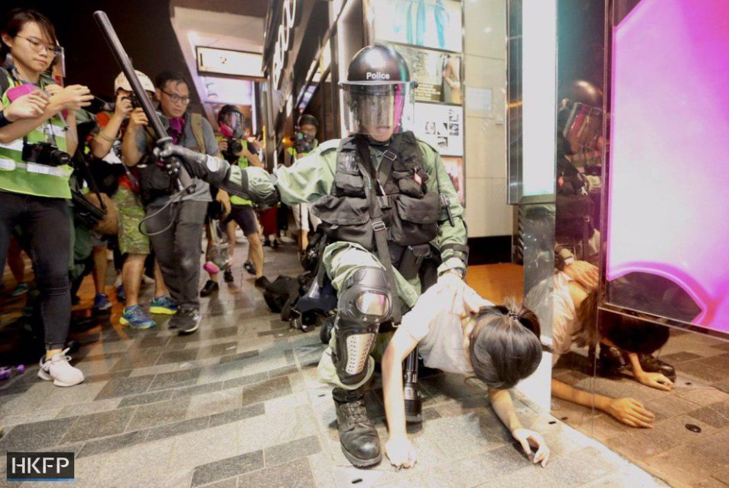august 10 tsim sha tsui nathan road china extradition